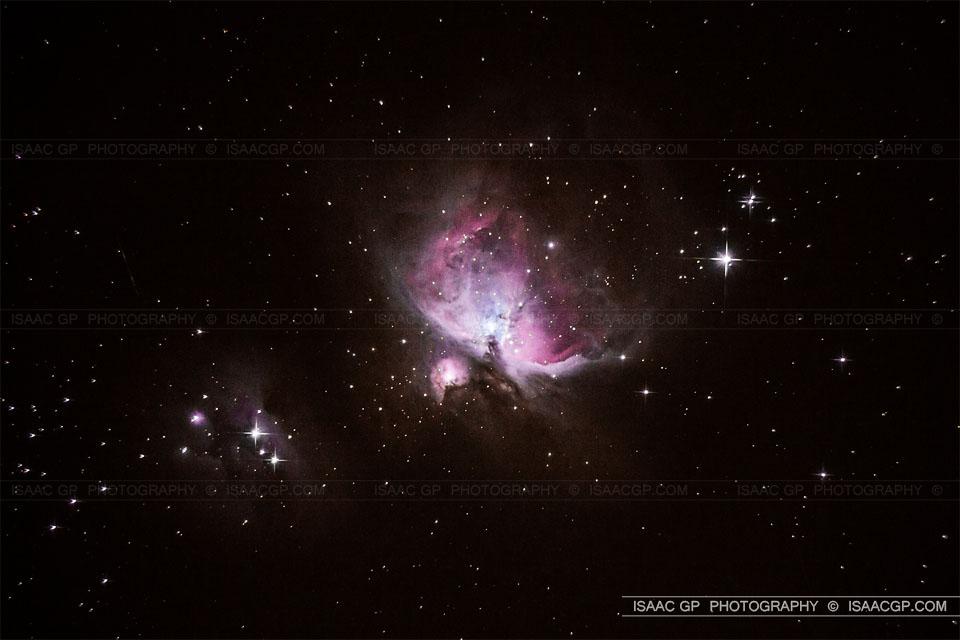 IsaacGP_DSLR Test M42 Orion - Isaac GP www.isaacgp.com