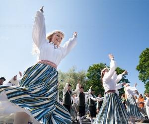 Estonian Song and Dance Celebration. July 2014. Tallinn (Estonia)