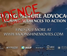Copyright Theft.Mike Hill and Moonshine Movies Australia.Clouds,Birds,Moon,Venus