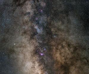 Milky Way, Scorpius and Sagittarius - Isaac GP  www.isaacgp.com