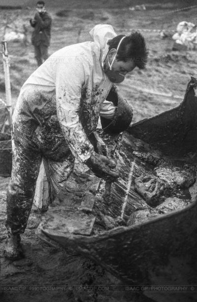 Prestige shipwreck and oil spill // Isaac GP © www.isaacgp.com